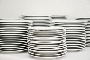 Plates by condesign (cc0) https://pixabay.com/en/plate-stack-tableware-plate-stack-629970/